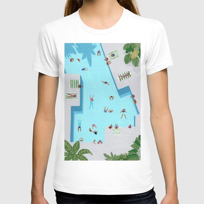 Crisp cut swim T-shirt