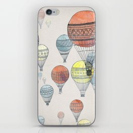 Voyages Hot Air Balloons iPhone Skin