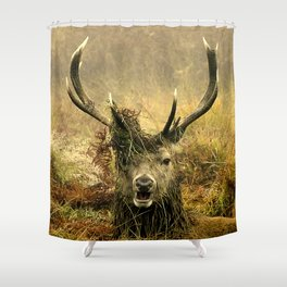 Stag Party Shower Curtain