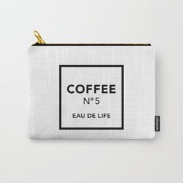 Coffee No5 Carry-All Pouch