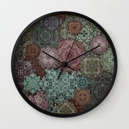 Mandorla Wall Clock