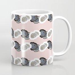 Pink Dottie Stripe Coffee Mug