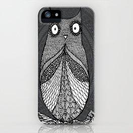 Doodle Owl iPhone Case