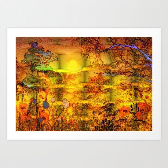 ABSTRACT - Abundance Art Print