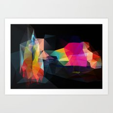 Dark Landscapes 2/4 Art Print