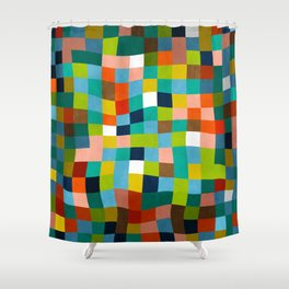 klee color study 1 Shower Curtain