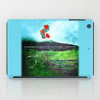 daria iPad Cases featuring there is a field... I'll meet you there. by Deepti Munshaw