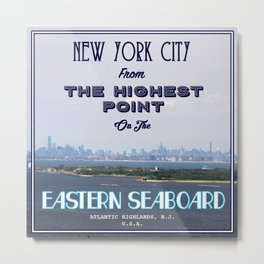 Highest Point on the Eastern Seaboard Metal Print