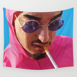 Pink Guy Wall Tapestry