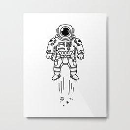 Cosmic Stranger 1 Metal Print