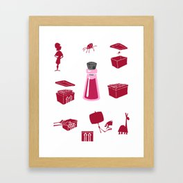 Yzma's potion Framed Art Print