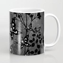 Skullerflies in the garden - dark scale Coffee Mug