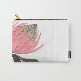 Protea Stripes Carry-All Pouch