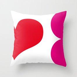 muah! Throw Pillow