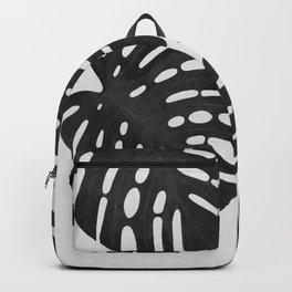 Monstera Black & White I Backpack