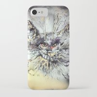 cheshire iPhone & iPod Cases featuring Cheshire  by Katerina Chivil