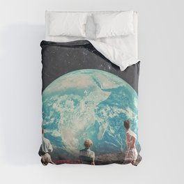 Don't Worry, the Kids will be Alright Duvet Cover