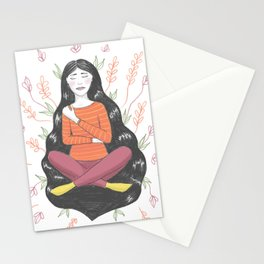 Peace and Pain (either/or/both) Stationery Cards