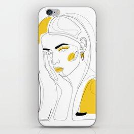 In Gold iPhone Skin