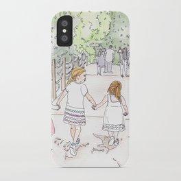 Molly Mae Walking iPhone Case
