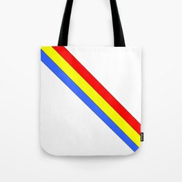 Flag of romania 4 -romania,romanian,balkan,bucharest,danube,romani,romana,bucuresti Tote Bag