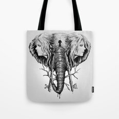Hidden Memories (B/W) Tote Bag
