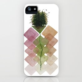 Forest Geometry iPhone Case