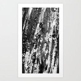 rock climbing, Yosemite Art Print