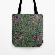 Mini Green and Purple Mini Mosaic Tile Tote Bag