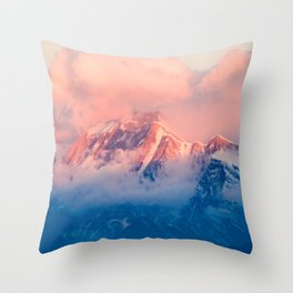 Powder Throw Pillow