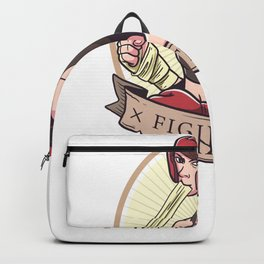 Strong Women's Rights Equality Emancipation Design Backpack