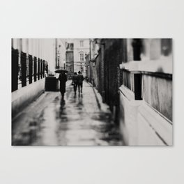 on the streets of Cambridge ... Canvas Print