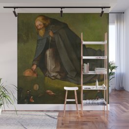 "Hieronymus Bosch ""The Temptation of Saint Anthony"" (Kansas) Wall Mural"