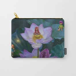 Lotus of India Carry-All Pouch