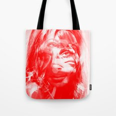 Sharon Mix 12 red Tote Bag