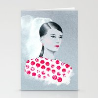 sandra dieckmann Stationery Cards featuring Sandra by youdesignme
