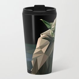 Geometric Yoda Metal Travel Mug