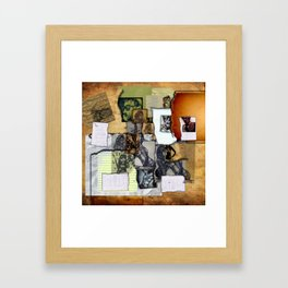 The Sketchbook Framed Art Print