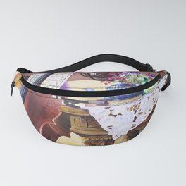 Cello Still Life Oil Painting Fanny Pack