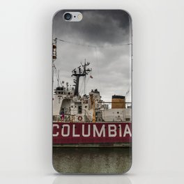 The Lightship Columbia iPhone Skin