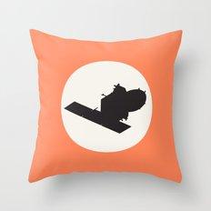 Mangalyaan Throw Pillow
