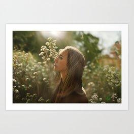 Alycia Debnam carey Art Print
