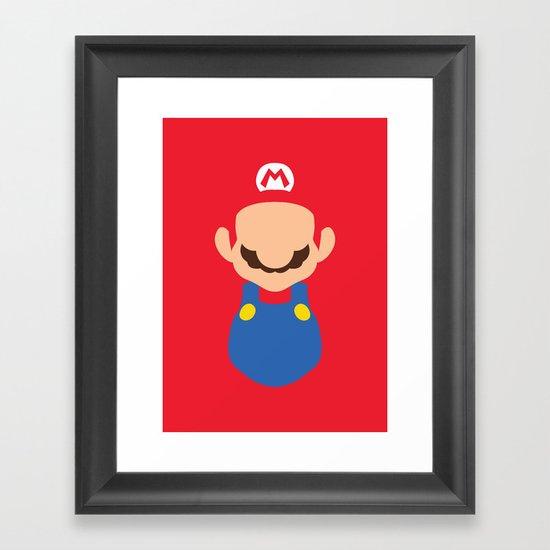 Mario - Mario Framed Art Print