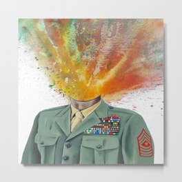 Sgt. Major Metal Print