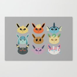 The Silly Beasts Canvas Print