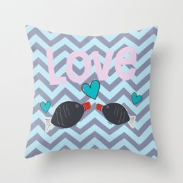 Soy in love with you Throw Pillow