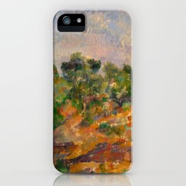 "Paul Cezanne ""Bibémus"" iPhone Case"