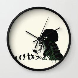Lovecraftian Darwinism Wall Clock