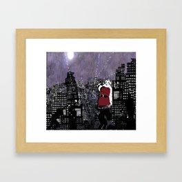 Civil War Santa Framed Art Print
