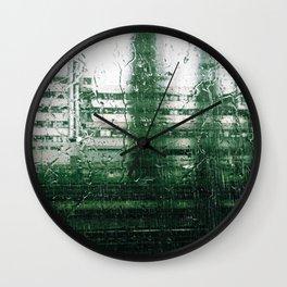 Rain Train Wall Clock